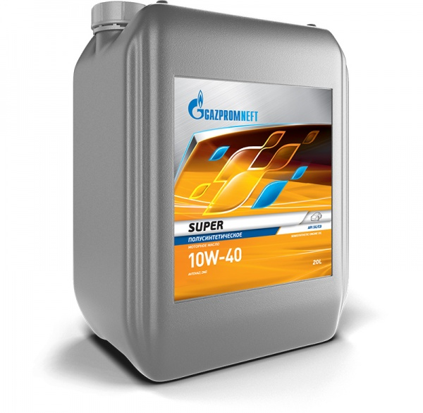 Gazpromneft Super 10W-40 кан.20л (17 840 г) ЯНОС ГПн