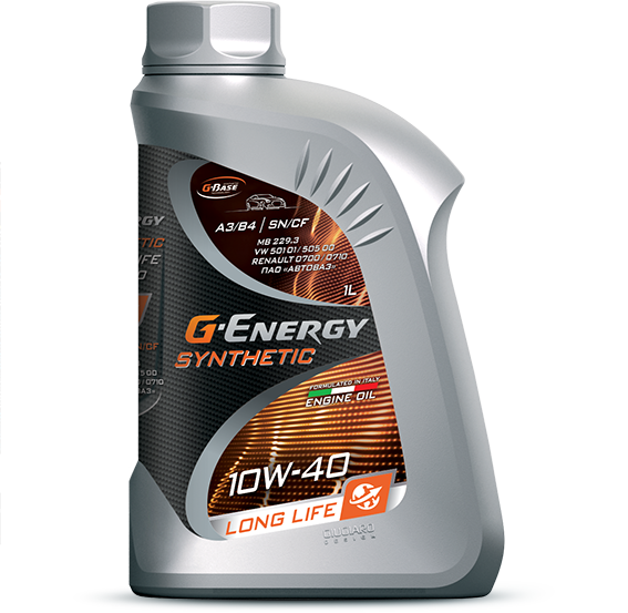 G-Energy Synthetic LongLife 10W-40 кан.1л (858 г) #