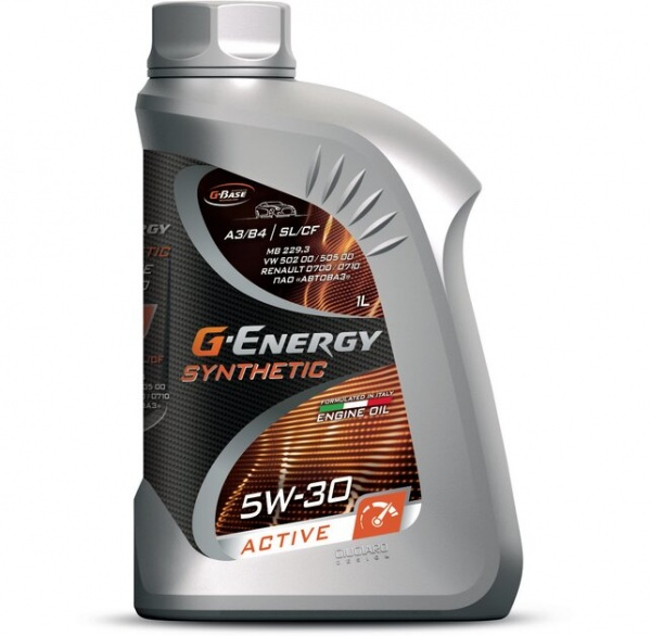 G-Energy Synthetic Active 5W-30 кан.1л (854 г) #
