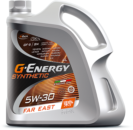 G-Energy Synthetic Far East 5W-30 кан.4л (3 396 г)