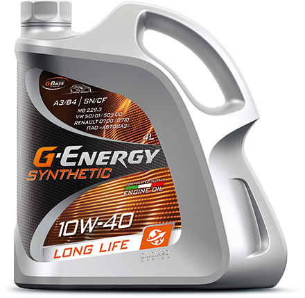 G-Energy Synthetic LongLife 10W-40 кан.4л (3 432 г) #