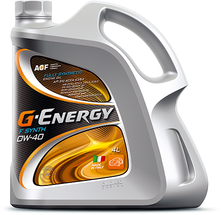 G-Energy F Synth 0W-40 ITALY 4л (3 370 г)